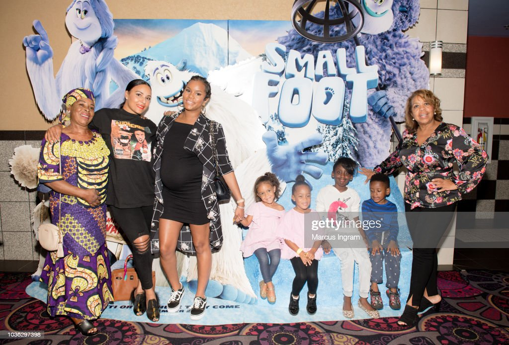 'Smallfoot' Special Screening With The Ludacris Foundation In Atlanta