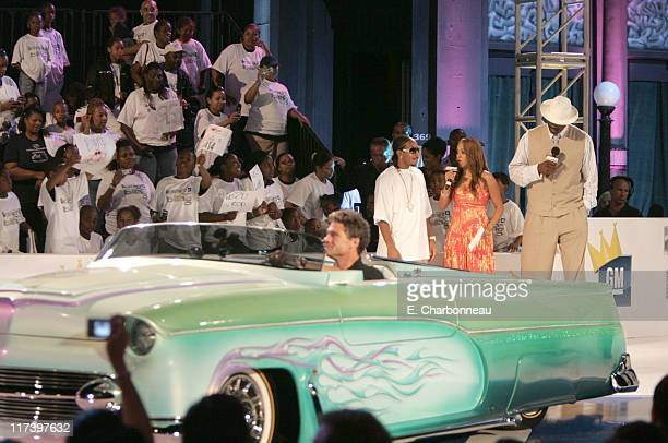 Ludacris La La Vasquez and Shaquille O'Neal during General Motors Presents 3rd Annual GM AllCar Showdown Hosted by Shaquille O'Neal Show at Paramount...