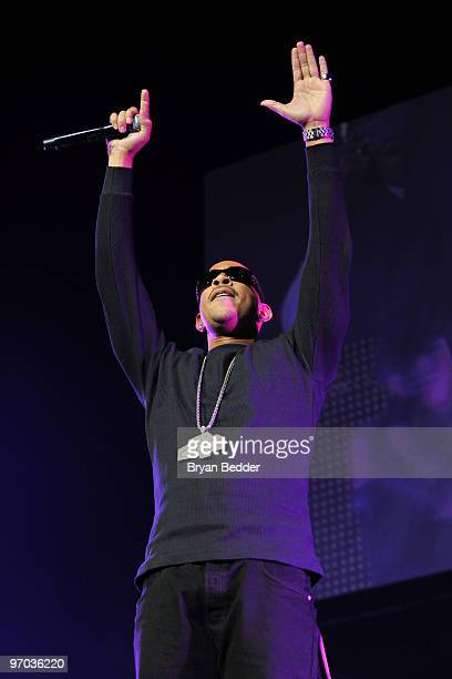 Ludacris performs at Madison Square Garden on February 24 2010 in New York City