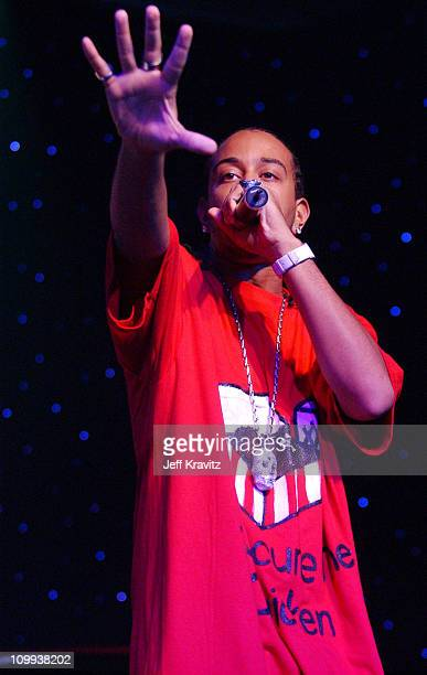 Ludacris performs at the 2 Fast 2 Furious DVD launch event in Rio Grande Puerto Rico
