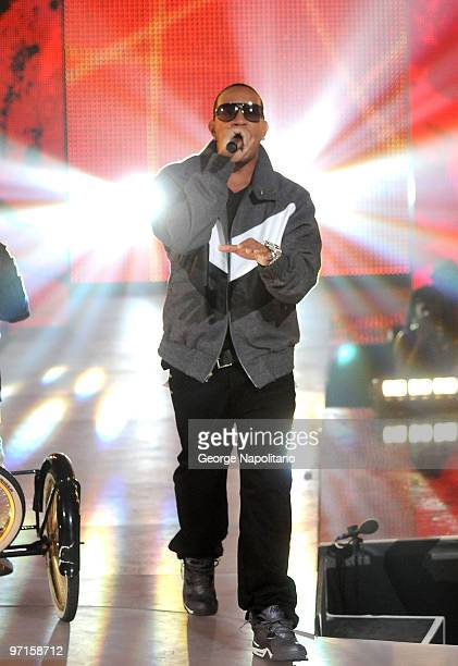 Ludacris performs at the BET's Rip The Runway 2010 at the Hammerstein Ballroom on February 27 2010 in New York City