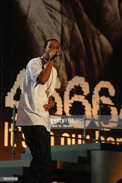 Ludacris performs during the 46664 World Aids Day Concert on December 01 2007 in Johannesburg South Africa