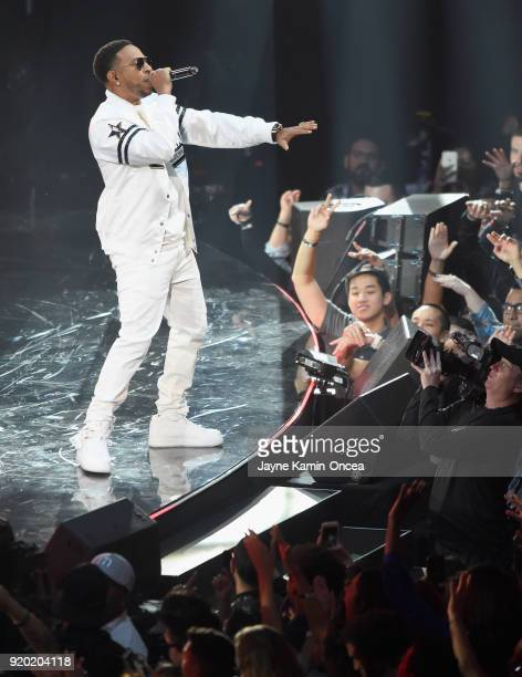Ludacris performs onstage during the NBA AllStar Game 2018 at Staples Center on February 18 2018 in Los Angeles California