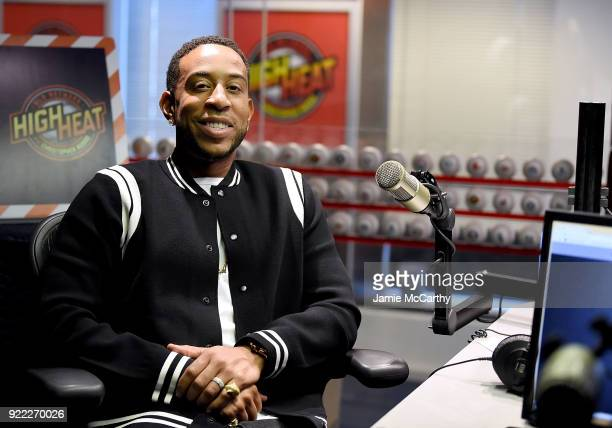 Ludacris visits SiriusXM at SiriusXM Studios on February 21 2018 in New York City
