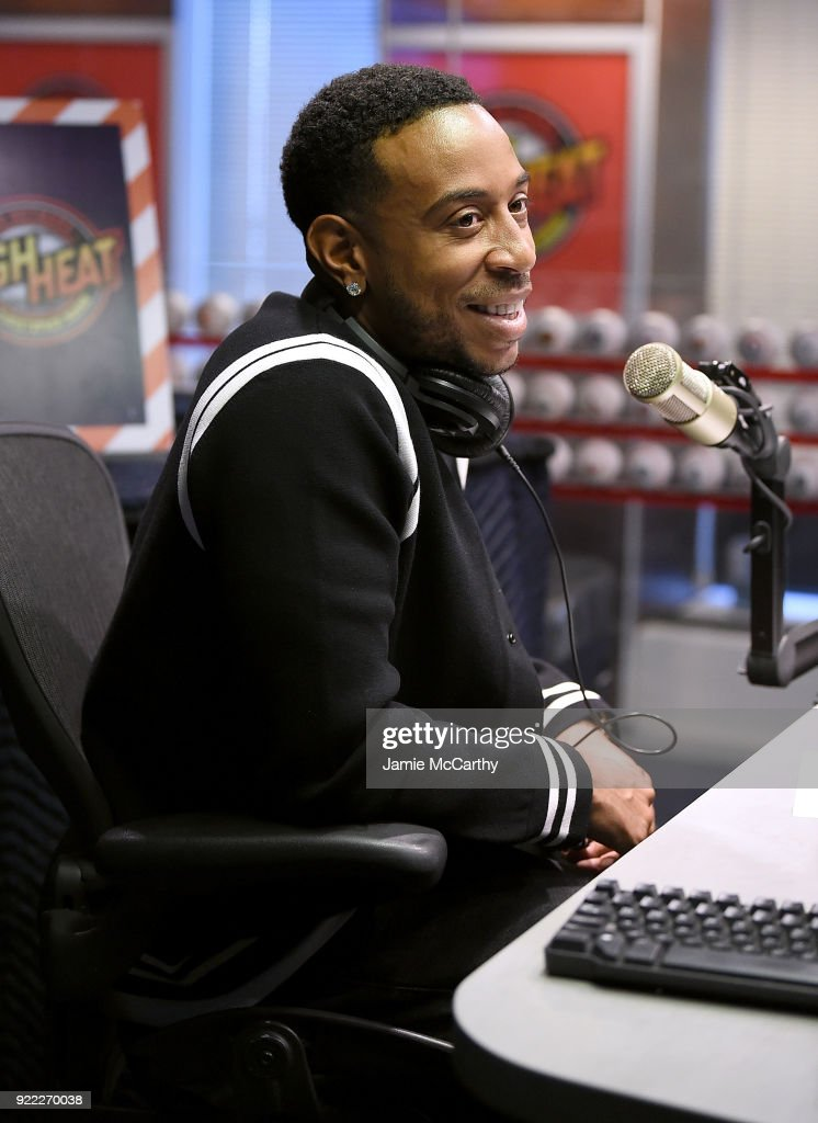 Ludacris visits SiriusXM at SiriusXM Studios on February 21, 2018 in New York City.