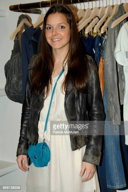 Ludivine attends JEROME DREYFUSS Fall/Winter 2009 Collection at LUDIVINE Uptown at Boutique Ludivine on February 19 2009 in New York City