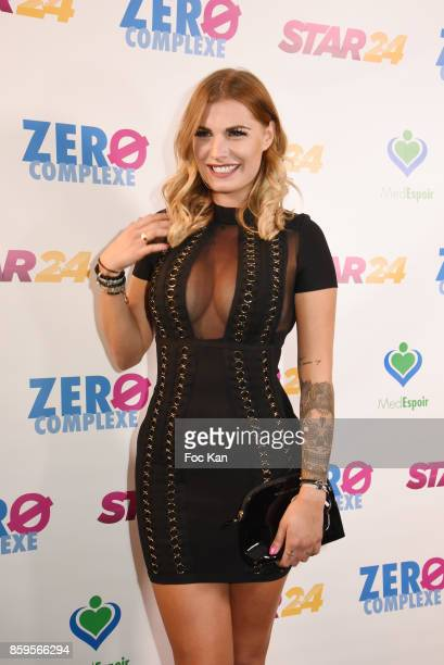 Ludivine Birker attends the 'Zero Complexe' press conference at Hotel Normandy on October 9 2017 in Paris France