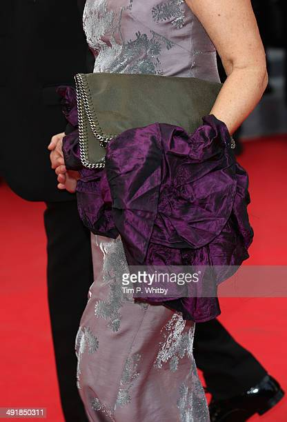 Ludivine Clerc attends the Saint Laurent premiere during the 67th Annual Cannes Film Festival on May 17 2014 in Cannes France