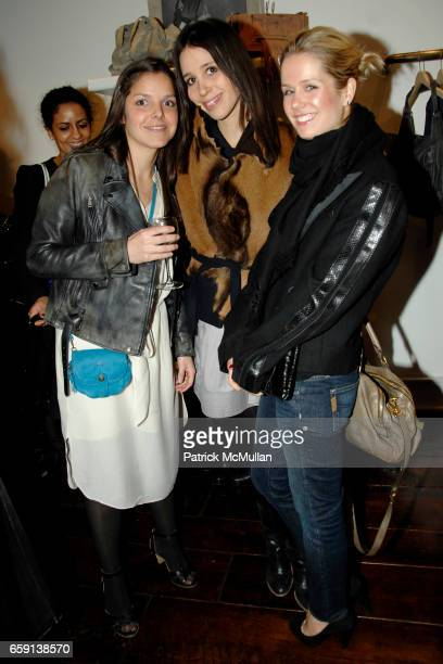Ludivine Deborah Hanau and Jenna Sloan attend JEROME DREYFUSS Fall/Winter 2009 Collection at LUDIVINE Uptown at Boutique Ludivine on February 19 2009...