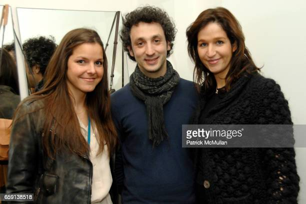 Ludivine Jerome Drreyfuss and Rachel Chicheportiche attend JEROME DREYFUSS Fall/Winter 2009 Collection at LUDIVINE Uptown at Boutique Ludivine on...