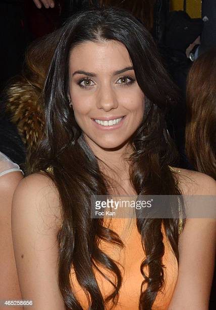 Ludivine Sagna attends the Christophe Guillarme show as part of the Paris Fashion Week Womenswear Fall/Winter 2015/2016 on March 4 2015 in Paris...