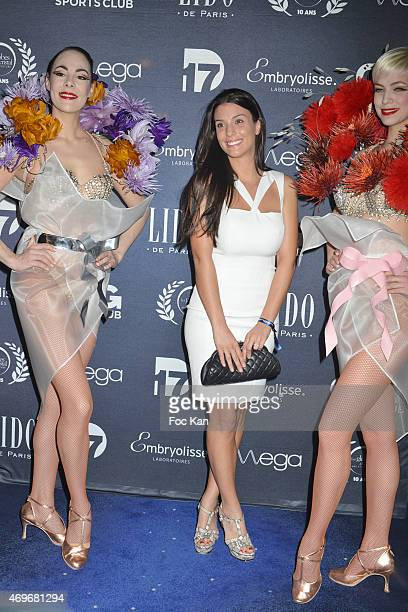Ludivine Sagna attends the 'Globes De Cristal' 2015 Award Ceremony At The Lido on April 13 2015 in Paris France