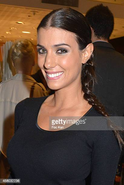 Ludivine Sagna attends the 'Salon Du Chocolat Chocolate Fair 20th Anniversary' At the Parc des Expositions Porte de Versailles on October 28 2014 in...