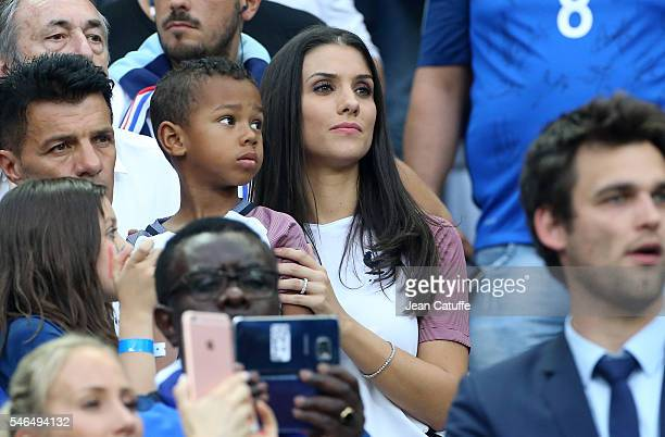 Ludivine Sagna attends the UEFA Euro 2016 final between Portugal and France at Stade de France on July 10 2016 in SaintDenis near Paris France