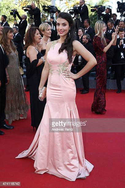 Ludivine Sagna attends the 'Youth' Premiere during the 68th annual Cannes Film Festival on May 20 2015 in Cannes France