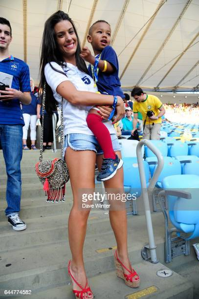 Ludivine SAGNA / Elias SAGNA France / Equateur Coupe du Monde 2014 Photo Dave Winter / Icon Sport