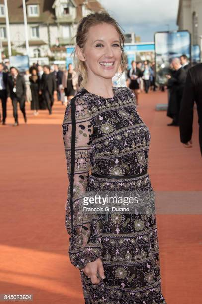 Ludivine Sagnier arrives at the closing ceremony of the 43rd Deauville American Film Festival on September 9 2017 in Deauville France