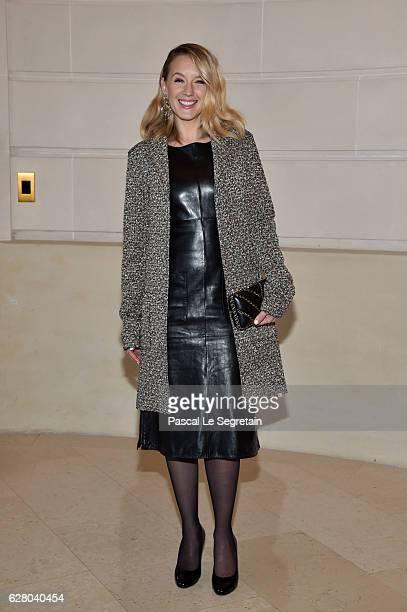 Ludivine Sagnier attends 'Chanel Collection des Metiers d'Art 2016/17 Paris Cosmopolite' Show on December 6 2016 in Paris France