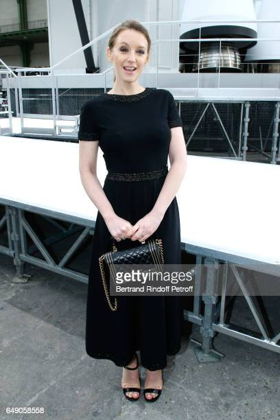 Ludivine Sagnier attends the Chanel show as part of the Paris Fashion Week Womenswear Fall/Winter 2017/2018 on March 7 2017 in Paris France