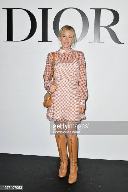 Ludivine Sagnier attends the Dior Womenswear Spring/Summer 2021 show as part of Paris Fashion Week on September 29, 2020 in Paris, France.