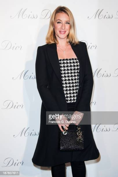 Ludivine Sagnier attends the 'Esprit Dior Miss Dior' Exhibition Opening at Grand Palais on November 12 2013 in Paris France