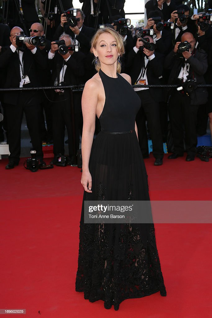 Ludivine Sagnier attends the Premiere of 'La Venus A La Fourrure' at The 66th Annual Cannes Film Festival on May 25, 2013 in Cannes, France.