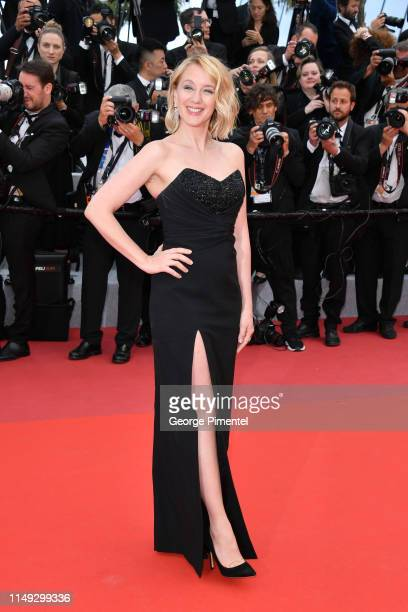 Ludivine Sagnier attends the screening of Les Miserables during the 72nd annual Cannes Film Festival on May 15 2019 in Cannes France