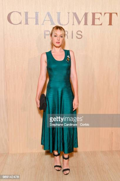 Ludivine Sagnier attends the 'Tresors d'Afrique' Unvelling Of Chaumet High Jewelry Party as part of Haute Couture Paris Fashion Week on July 1 2018...