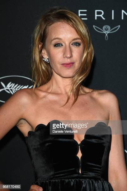 Ludivine Sagnier attends the Women in Motion Awards Dinner presented by Kering and the 71th Cannes Film Festival at Place de la Castre on May 13 2018...