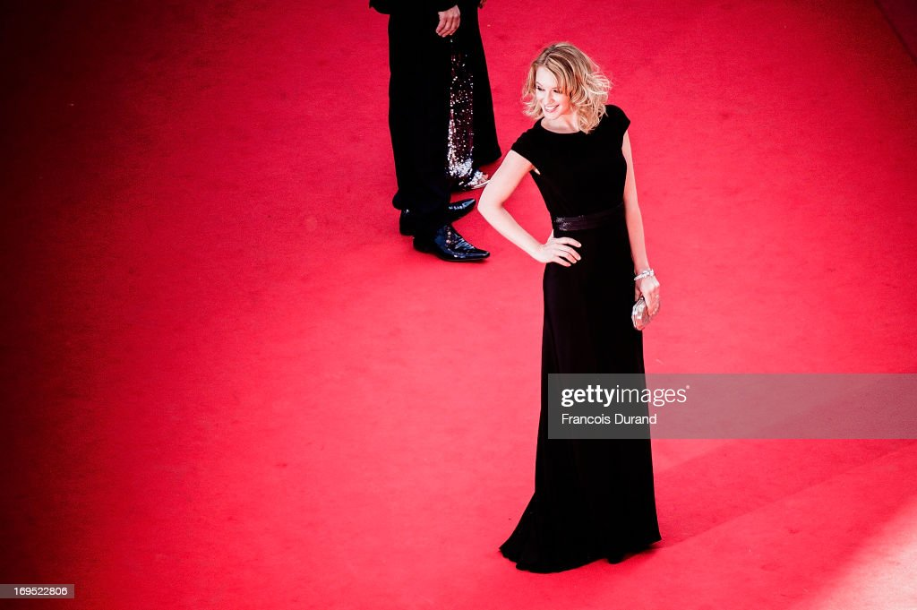 Ludivine Sagnier attends the 'Zulu' Premiere and Closing Ceremony during the 66th Annual Cannes Film Festival at the Palais des Festivals on May 26, 2013 in Cannes, France.