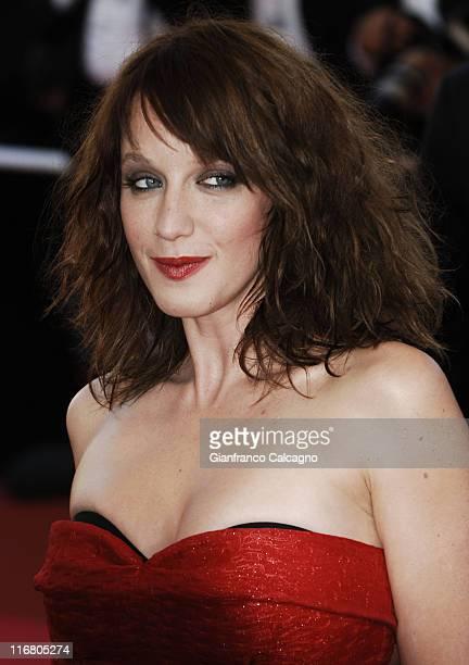 Ludivine Sagnier during 2007 Cannes Film Festival 'Les Chansons d'Amour' Premiere at Palais des Festival in Cannes France