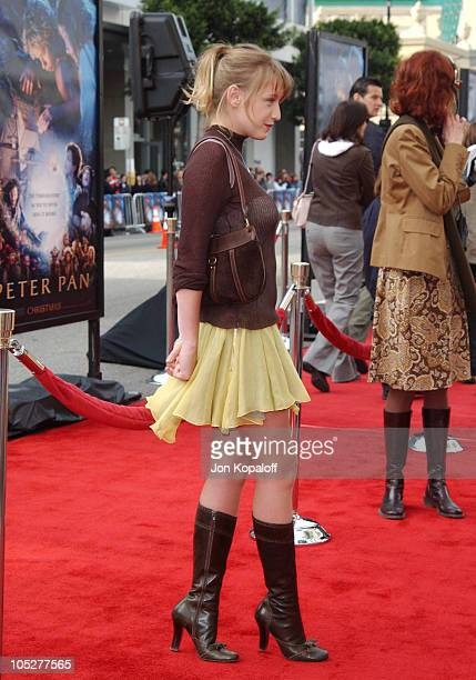 Ludivine Sagnier during 'Peter Pan' Los Angeles Premiere at Grauman's Chinese Theater in Hollywood California United States