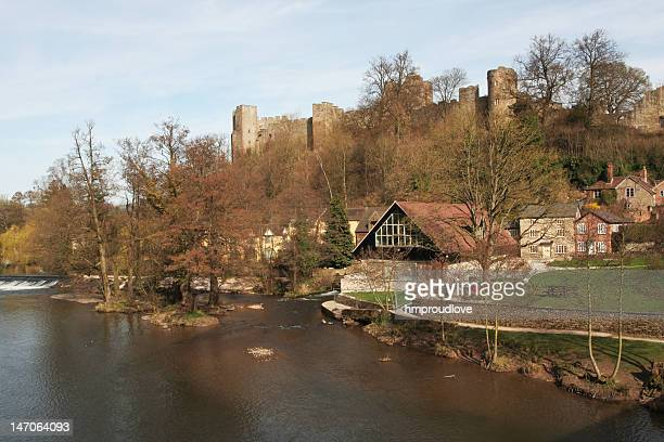 ludlow castle - ludlow shropshire stock photos and pictures