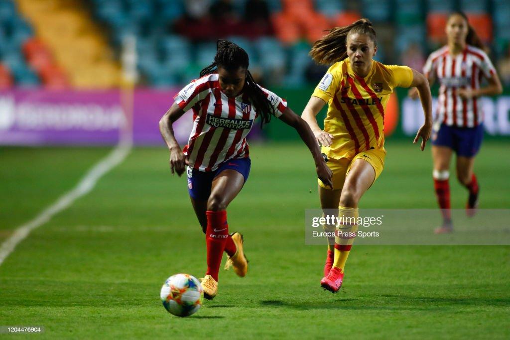 Women Spanish SuperCup: Atletico De Madrid V FC Barcelona : News Photo