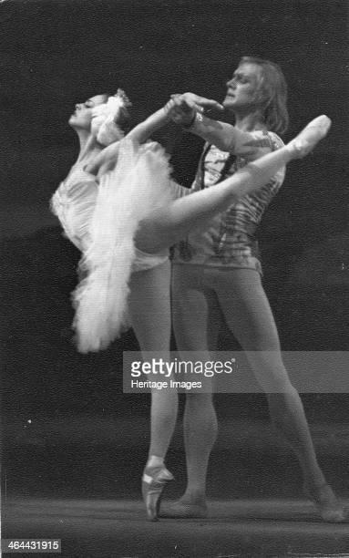 Ludmila Semenyaka and Alexander Godunov in the Ballet Swan Lake