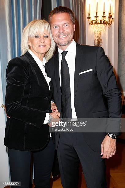 Ludmilla Richter and Johannes Weinsheimer attend the 'Chaim Sheba Medical Center' Gala on November 06 2014 in Berlin Germany
