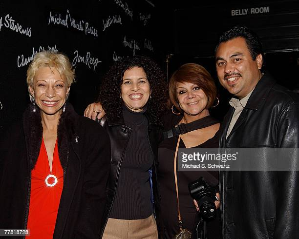 Ludo Vika Lydia Nicole Cha Cha and Frank Lucero attend the memorial for Marilyn Martinez on November 7 2007 at The Comedy Store in Los Angeles...