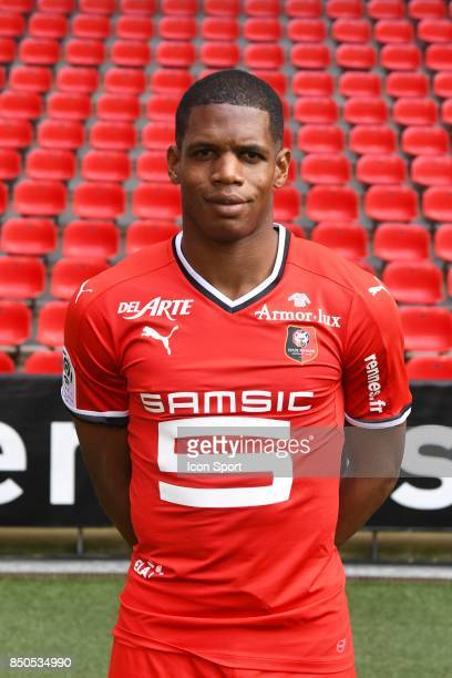 Ludovic Baal during photoshooting of Stade Rennais for new season 2017/2018 on September 19 2017 in Rennes France