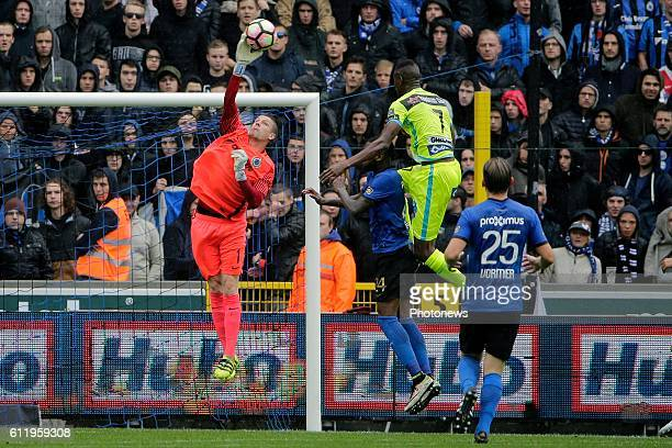 Ludovic Butelle goalkeeper of Club Brugge pictured during Jupiler Pro League match between Club Brugge KV and KAA Gent on OCTOBER2 2016 in Brugge...