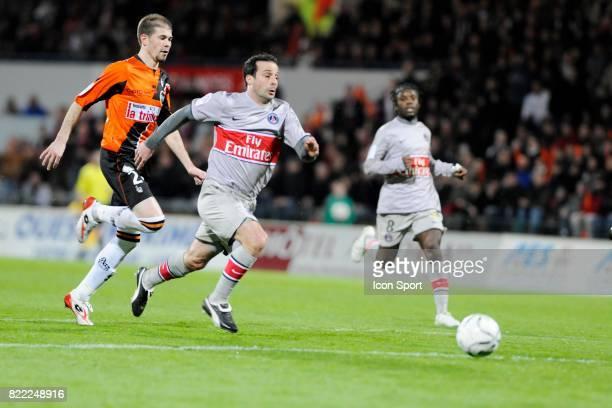 Ludovic GIULY Lorient / PSG 27 eme journee de Ligue 1