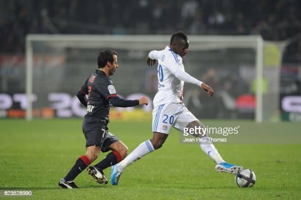 Ludovic GIULY / Aly CISSOKHO Lyon / PSG 15eme journee de Ligue 1