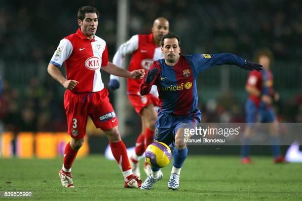 Ludovic GIULY FC Barcelone / Atletico Madrid 16eme Journee de Liga