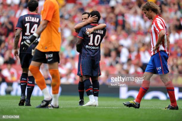 Ludovic GIULY / Stephane SESSEGNON PSG / Atletico Madrid Emirats Cup Emirats Stadium Londres