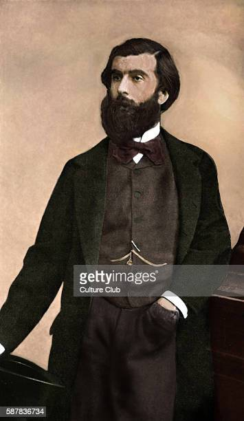 Ludovic Halevy French author playwright librettist novelist and intellectual 1 January 1834 7 May 1908 Colourised version