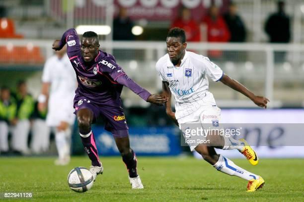 Ludovic SANE / Alain TRAORE Auxerre / Bordeaux 9eme journee de Ligue 1