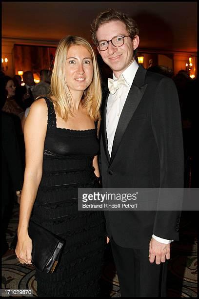 Ludovic Watine Arnaud and Amie at Arop Gala Roland Petit At Opera Garnier In Paris