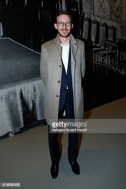 Ludovic Watine Arnault attends the Icones de l'Art Moderne La Collection Chtchoukine at Fondation Louis Vuitton on October 21 2016 in Paris France