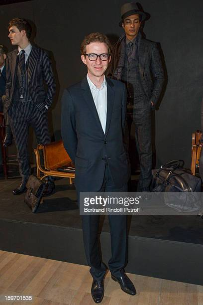 Ludovic WatineArnault attends the Berluti Men Autumn / Winter 2013 presentation at the Great Gallery of Evolution in the National Museum of Natural...