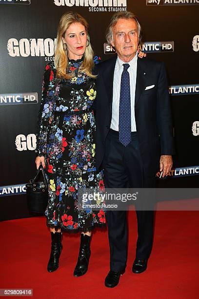 Ludovica Andreoni and Luca Cordero di Montezemolo attend the 'Gomorra' Tv Show premiere at Teatro Dell'Opera on May 09 2016 in Rome