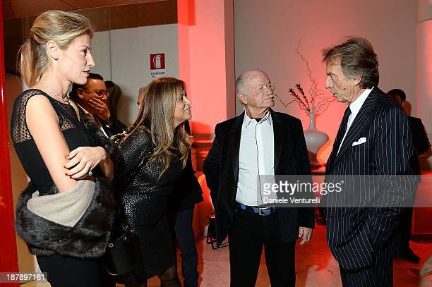 Ludovica Andreoni Paola Penzo Gino Paoli and Luca Cordero di Montezemolo attend the Gala Telethon 2013 Roma during The 8th Rome Film Festival on...